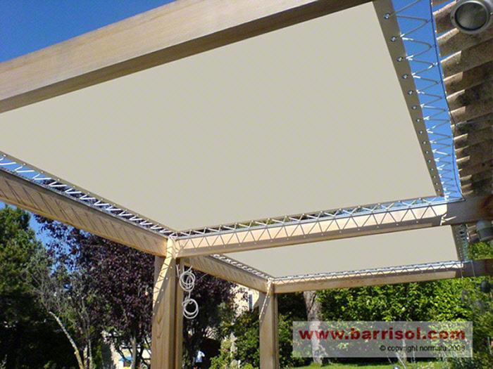 auvent en toile pour terrasse latest auvent pour terrasse en aluminium couverture en toile t toile exterieure pour terrasse