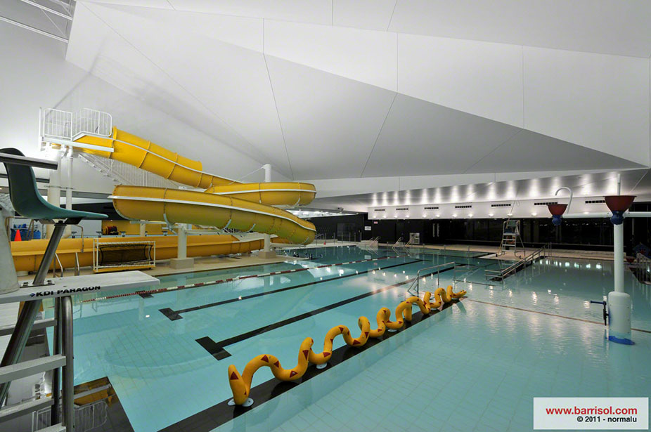 Projets canada centre aquatique desjardins for Piscine hors sol geant casino